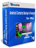 Android Contacts Backup & Restore for Mac