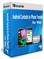 Android Contacts to iPhone Transfer for Mac