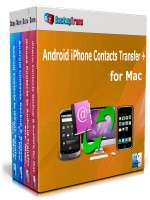 Android iPhone Contacts Transfer + for Mac