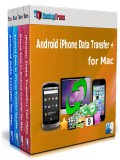 Android iPhone Data Transfer + for Mac