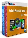 Android iPhone Kik Transfer + for Mac
