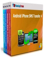 Android iPhone SMS Transfer +