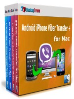 Android iPhone Viber Transfer + for Mac