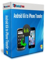 Android Kik to iPhone Transfer