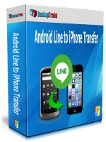 Android Line to iPhone Transfer