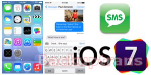 backup and restore iOS 7 SMS