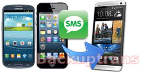 Transfer Android/iPhone SMS and MMS to HTC One