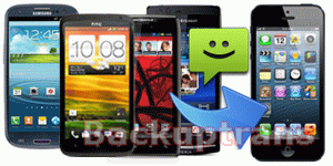 how to transfer Android SMS messages to iPhone 5
