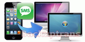 how to transfer and backup iPhone 5 SMS to computer
