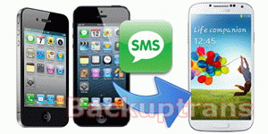 Transfer iPhone 3GS/4/4S/5 SMS and MMS to Galaxy S4