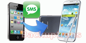 transfer iPhone SMS to Samsung Galaxy Note 2