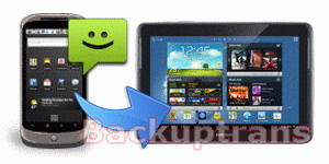 Transfer SMS Samsung Galaxy Note 10.1 from other Android phone