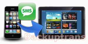 Transfer SMS from iPhone to Samsung Galaxy Note 10.1