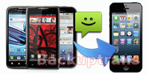 how to transfer SMS to iPhone 5 from Motorola RAZR/Atrix/Droid/Defy etc