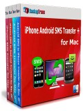 iPhone Android SMS Transfer + for Mac