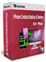 iPhone Contacts Backup & Restore for Mac