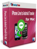 iPhone Line to Android Transfer for Mac