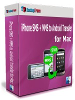 iPhone SMS + MMS to Android Transfer for Mac