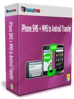 iPhone SMS + MMS to Android Transfer