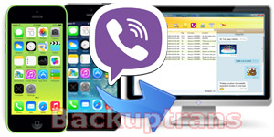 Backup Viber Chat Messages from iPhone to Computer