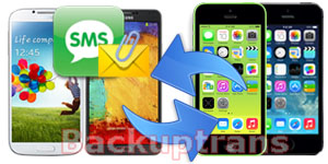 Copy SMS MMS Between iPhone and Android Phone on Mac