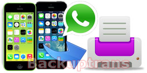 Print WhatsApp Messages from iPhone on Mac Directly