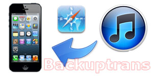 Recover iPhone Bookmarks from iTunes Backup