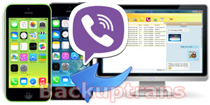 Restore Viber Message History to iPhone from Computer