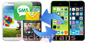 Transfer SMS MMS Messages between Android and iPhone