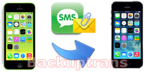 Transfer SMS, MMS, iMessage Between different iPhones