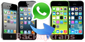 Transfer WhatsApp Chat History between iPhones
